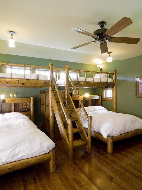 Trendy bedroom photo in Burlington. Loft Style Bed   Houzz