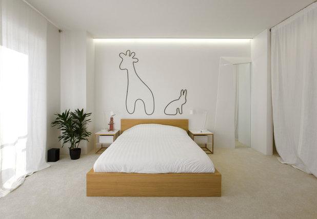 Современный Спальня by Архитектурная мастерская za bor