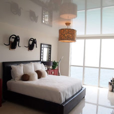 Modern Bedroom by High Tech Ceiling