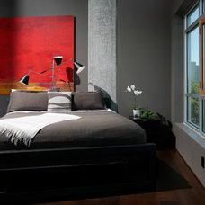 Modern Bedroom by Benning Design Associates