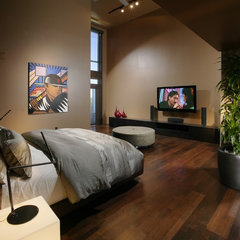contemporary bedroom by Benning Design Associates