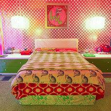Eclectic Bedroom by Alex Amend Photography
