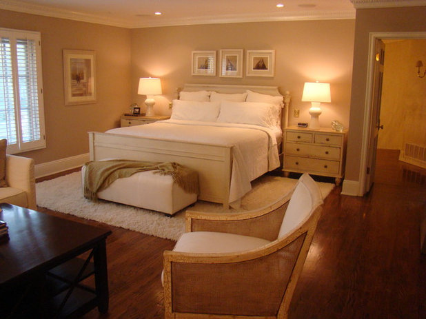Traditional Bedroom by Fowler Interiors