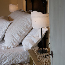 Farmhouse Bedroom by Lisa Gabrielson Design