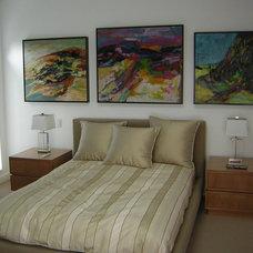 Contemporary Bedroom by David Solomon