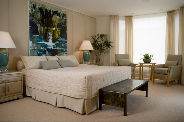 Contemporary Bedroom by Alpha Design Group