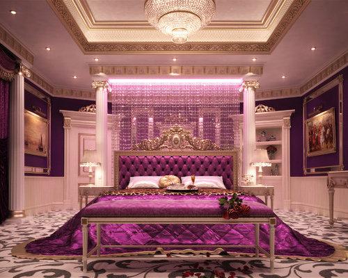 Royal bedroom houzz for Royal bedroom designs