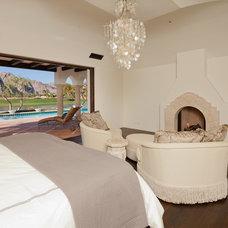 Mediterranean Bedroom by Troedsson Design and Planning
