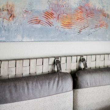 Ladera Ranch - Master Bedroom art & headboard