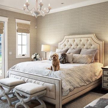 Lafayette Residence - Master Bedroom www.hryanstudio.com