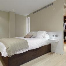 Modern Bedroom by Sergio Olazabal