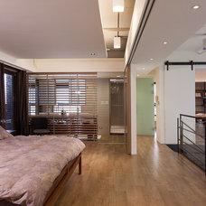 Contemporary Bedroom by PMK+designers