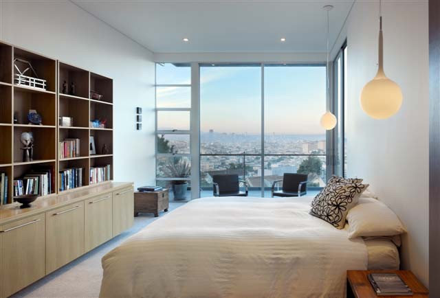 modern bedroom by zack de vito architecture construction