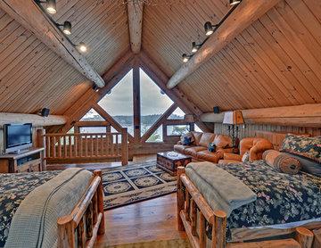 Lake Blue Ridge Custom Log Home