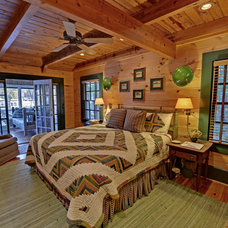 Rustic Bedroom by Envision Web