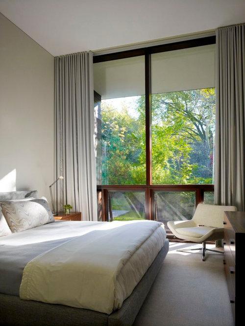 modern bedroom curtains home design, photos  decor ideas,