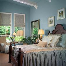Mediterranean Bedroom by Nancy Short Interiors