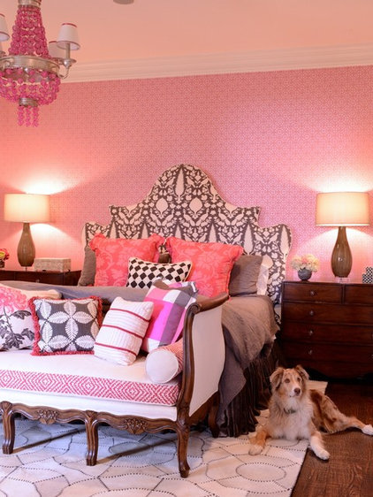 Eclectic Bedroom by Kim Armstrong