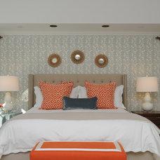 Transitional Bedroom by Renaissance Interior Designer of Chicago