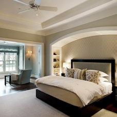 Traditional Bedroom by Downey Szafarz Architects
