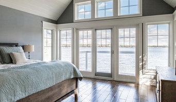 Lake House Construction Bedroom, Etc.