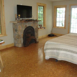 Traditional Cork Floor Bedroom Design Ideas Pictures