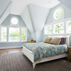 Traditional Bedroom by Joseph M Marchese, Architect