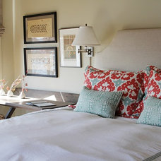 Beach Style Bedroom by Yvonne McFadden LLC