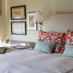 traditional bedroom by Yvonne McFadden LLC