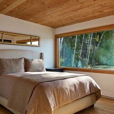 Rustic Bedroom by Altius Architecture, Inc.