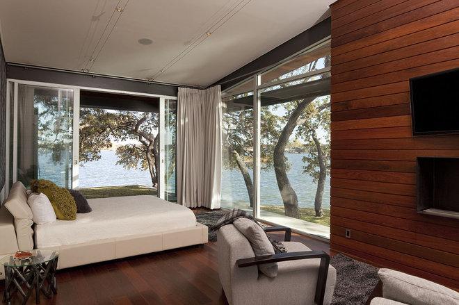 Contemporary Bedroom by Dick Clark + Associates