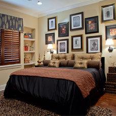 Traditional Bedroom by Roman Interior Design