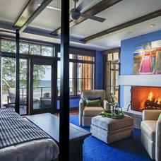 Rustic Bedroom by Deep River Partners