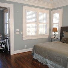 Traditional Bedroom by Slate Barganier Building, Inc