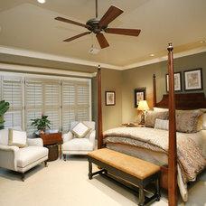 Traditional Bedroom by Jennifer Orne
