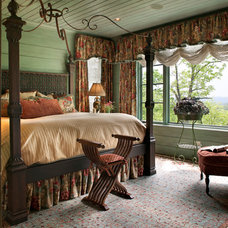 Traditional Bedroom by Kathryn Long, ASID