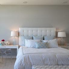 Transitional Bedroom by Shoberg Custom Homes