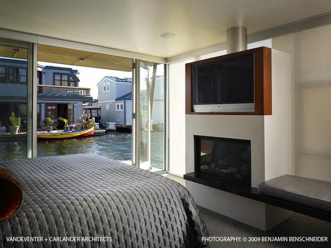 Contemporary Bedroom by Vandeventer + Carlander Architects