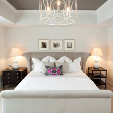 Transitional Bedroom by JALIN Design, LLC