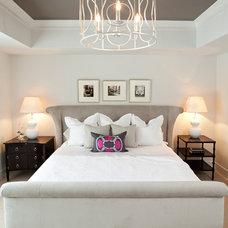 Transitional Bedroom by JALIN Design, LLC
