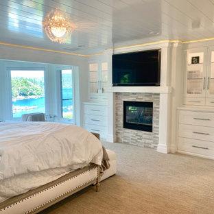 Lake View Master Bedroom — Lake Arrowhead, California