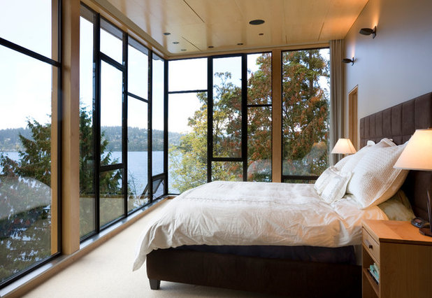 Contemporary Bedroom by Prentiss Balance Wickline Architects