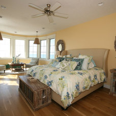 Beach Style Bedroom by Cottage Home, Inc.