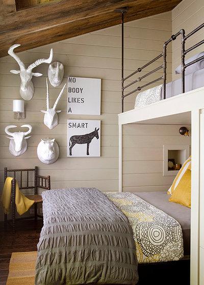 Popular Contemporary Bedroom by Kristina Crestin Design