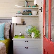 Contemporary Bedroom by Kristina Crestin Design