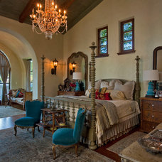 Mediterranean Bedroom by chas architects