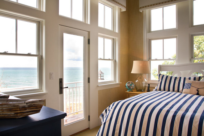 Beach Style Bedroom by Dan Vos Construction Company