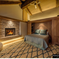Rustic Bedroom by Finishing Touch Carpentry