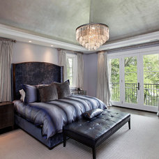 Transitional Bedroom by Highgate Builders