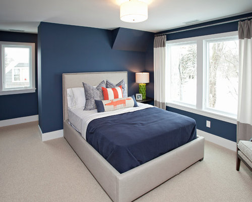 Beautiful Blue Bedroom For Boys Room In Design Decorating